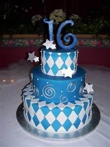 Sweet 16 Cakes... for the future