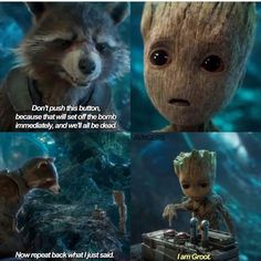 Groot and Rocket | Guardians of the Galaxy Vol 2