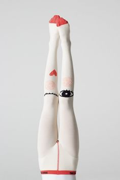 Braveling Imagine - Queen of Hearts tights
