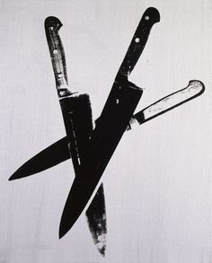 Knives, c.1981-82 (three black)
