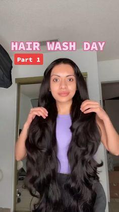 Hair Tips Video, Hair Videos, Natural Hair Care, Natural Hair Styles, Curly Hair Styles, Hair Growing Tips, Diy Hair Treatment, Curly Hair Tips, Long Hair Tips