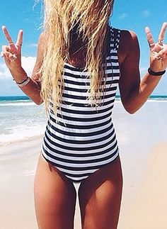 2017 Sexy Women's Swimwear Swimsuit Monokini Summer Beachwear Bikini Bathing Beach maillot de bain femme Plus Size Girls Swimwear Monokini Swimsuits, Cute Swimsuits, Tankini, Women's Swimwear, Modest Swimsuits, Swimwear Brands, Bikini Babes, Sexy Bikini, Bikini Swimsuit