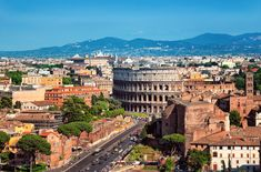 Six-Night Rome City Vacation with Round-Trip Airfare from New York (JFK) and Daily Breakfast from Great Value Vacations - Groupon London Flug, Voyage Rome, Rome Vacation, Barcelona Vacation, Greece Vacation, Rome City, Vatican City, Living In Italy, Places In Italy