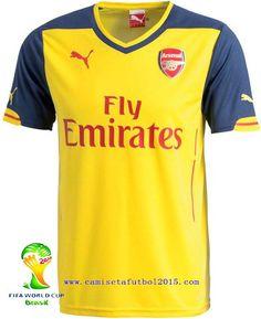 Nueva Camiseta del Arsenal 2014-15 2ª d3d25d0ed1439
