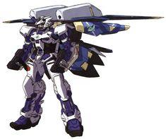 MBF-P03secondG Gundam Astray Blue Frame Second G