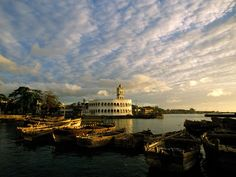 Central Mosque on Harbor Bay  |  Moroni, Comoros (East Africa)