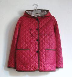 ★성인여성을 위한 누빔 후드 자켓 패턴★ 바인딩 처리가 깔끔한 누빔 후드 자켓 패턴입니다.서적에 실린 ... Baby Sewing, Sewing Patterns, Rain Jacket, Windbreaker, Winter Jackets, Coat, Tunics, Fashion, Winter Time