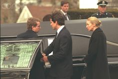 3 Jan 1998. Funeral of Michael LeMoyne Kennedy.