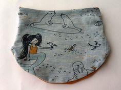 Halstücher - Halssocke, Halstuch, Meerjungfrau, KU 44 - 48 cm - ein Designerstück von kleine_Kuschelrobbe bei DaWanda