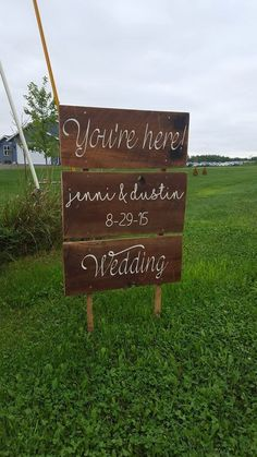You're Here Personalized Sign for Country Wedding - Rustic Wedding Decor wedding games This item is unavailable August Wedding, Fall Wedding, Rustic Wedding, Our Wedding, Dream Wedding, Country Wedding Games, Wedding Ideas, Country Weddings, Wedding Pictures