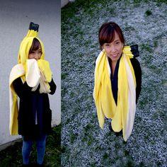 Bananen Kostüm selber machen | Kostüm Idee zu Karneval, Halloween & Fasching