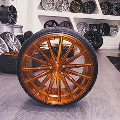 Candy copper rim