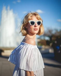 KAIBOSH | Couturekulten wears CITY SURVIVOR in MOTHER OF PEARL. Clear Crystal, Buy Now, Eyewear, Pearls, City, Classic, How To Wear, Stuff To Buy, Inspiration