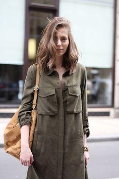 Fashion and style: Long overshirt