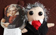 Ludwig van Beethoven by Emmelin Golling on Etsy