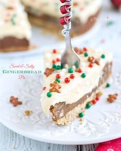 Sweet and Salty Gingerbread Pie by The Sweet Chick