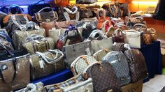 Counterfeited and pirated goods accounted for up to 2.5 percent of world trade, or as much as $461 billion, significantly damaging companies and state coffers, said the OECD. / #FakingItFashion