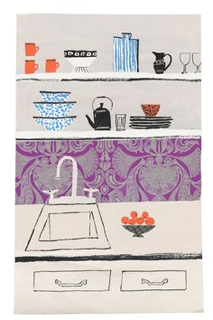Off the Wall: Wallpaper in Unexpected Places - aBlog