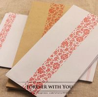 Free shiipping kraft paper envelope for wedding invitation envelopes vintage airmail envelopes diy scrapbooking 17cm*24cm