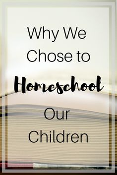 Homeschool is not for everyone, it takes a lot of time, patience, and effort. But for those who choose it, it is worth all the fun, learning, and stress.