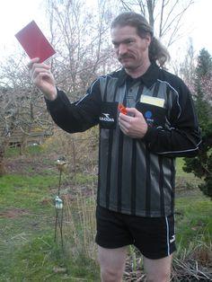 Schiedsrichterkostüm für die Olympia- und Fußballkiste Sportkiste