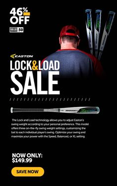 Lock & Load technology allows you to adjust Easton's swing weight according to your personal preference. Shop for this Easton BBCOR baseball bat with free shipping! Easton Bats, Easton Baseball, Baseball Pitching, Softball Bats, Baseball Bats, S Models, Technology, Free Shipping, Shop
