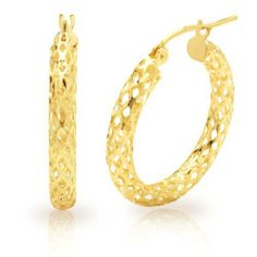 Duragold 14k Yellow Gold Diamond-Cut Pierced Tube Hoop Earrings Amazon Curated Collection, http://www.amazon.com/dp/B005JQIXX6/ref=cm_sw_r_pi_dp_X5ekrb1PCKCKY