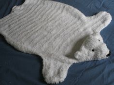 Praying With My Feet: Polar Bear Blanket