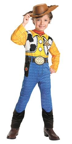 Toy Story Woody Boys Costume 7 10 Toddler Halloween Costumes 61fd7fb71a8