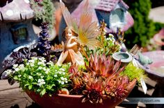 The Green Gardener: Fairy Gardens