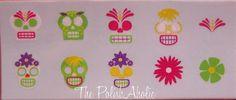 OPI So So Skullicious stickers