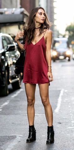 Slip Dress Outfit Gallery updated the best street style from new york fashion week Slip Dress Outfit. Here is Slip Dress Outfit Gallery for you. Slip Dress Outfit how to wear slip.
