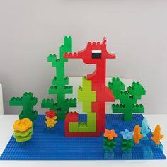 Hier siehst du ein Seepferdchen aus LEGO® Duplo, das uns von BRICKaddict.de gefällt!