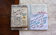 besottment by paper relics: Sketchbook Project Journal - Complete