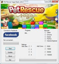 Do you want to play the cuddliest and most vibrant of puzzle games! Then you have to try this one: Pet Rescue Saga! This game is in the action-packed adventure Saga, Iphone 7, Connect To Facebook, Management Development, Game Resources, Ios, Game Update, Website Features, Hack Online