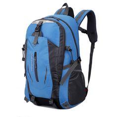 Liplasting Mountaineering Hunting Travel Rucksack Outdoor Sport Camping Backpack Wear Resistant Backpacks Waterproof Sports Bag #Affiliate