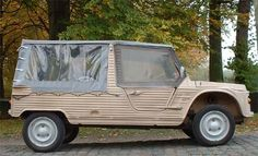 Citroen Mehari. I used to own one. Great fun. Could be started with a front hand crank if battery died.