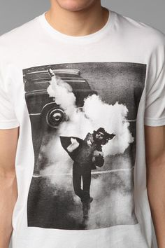 FUN Artists Tear Gas Throw Tee Online Only