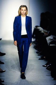 See the complete Calvin Klein Spring 1997 collection and 9 more Calvin Klein shows from the '90s.