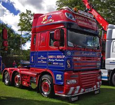 https://flic.kr/p/futpdx | James S Hislop DAF XF 105.510 K800JSH at Truckfest Scotland 2013