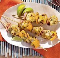 Grilled Curried Cauliflower #Kebabs