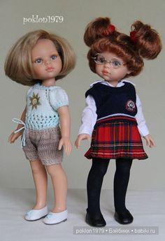 Мы нашли друг друга. Игровые куклы Paola Reina. Кристи школьница 32 см / Paola Reina, Antonio Juan и другие испанские куклы / Бэйбики. Куклы фото. Одежда для кукол