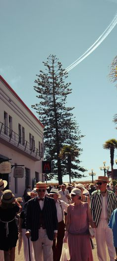 Art Deco Festival in Napier, Hawks Bay, New Zealand