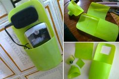 easy reuse of plastic packaging, support for mobile recharge.