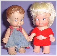 Uneeda Pee Wee Dolls. My cousin and I collected these dolls. We loved them!