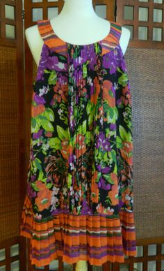 3 watchers! Fun & Flirty! #Freeship #Size #28 #$34.99 Buy now before it's GONE..GONE..GONE!  #NEW LISTING! #LANE #BRYANT MULTI-COLORED #CHIFFON #FLORAL STRIPPED #DRESS #Plus EXCELLENT USED CONDITION ~ LIKE #NEW ~ Versatile! ~ Great for #weddings, #parties, #graduations, #cocktails, #resort, #vacation. #eBay Baby Boomer #sale #deal #save #auction #shopping #fashion #designer
