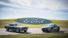 It's the fiftieth anniversary of classic car movie Bullitt, and a perfect excuse for Ford to launch a new special edition. The 2019 Mustang Bullitt takes the Mustang GT and gives it a Steve M… Ford Mustang Bullitt, Ford Mustangs, Ford Mustang Shelby, Shelby Gt500, 1968 Mustang, Mustang Cars, Pony Car, Steve Mcqueen, Ford Explorer