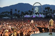 Singer Ellie Goulding performs onstage during day 1 of the 2014 Coachella Valley Music & Arts Festival at the Empire Polo Club on April 11, 2014 in Indio, California.