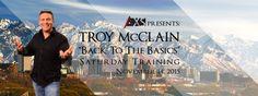 AXS CEO Troy McClain