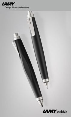 LAMY scribble.  An ideally weighed pen - not too light so as not to fly off your fingers accidentally, but not too heavy either so your hand does not tire to grip it.  The design is well at place in the most serious meetings, but is as well something you could pull out of your jeans pocket to scribble a note while out and about.